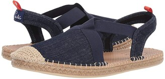 Sea Star Beachwear Seafarer Slingback Water Shoe (Dark Denim/No Embroidery) Women's Shoes