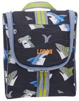 Pottery Barn Kids Mackenzie Navy Blue Tropical Sharks Wet/Dry Bag