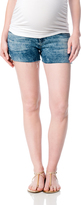 A Pea in the Pod Ag Jeans Secret Fit Belly Fray Hem Maternity Shorts