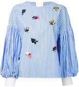 Muveil sequin embellished blouse - women - Cotton - 36