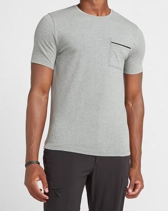Express Zipper Pocket Moisture-Wicking Performance T-Shirt