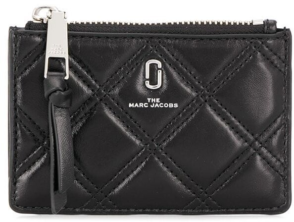 Marc Jacobs The Softshot quilted wallet