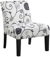 Asstd National Brand Swirl Floral Side Chair