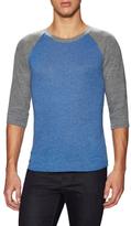 Alternative Apparel Colorblock Baseball Shirt