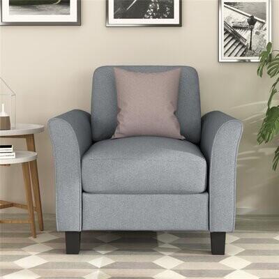 Thumbnail for your product : Winston Porter Living Room Furniture Armrest Single Sofa