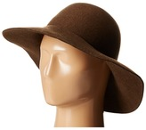 Karen Kane Raw Edge Wide Brim Floppy