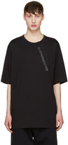 Y-3 Black Zip T-Shirt