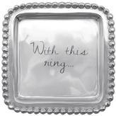 Mariposa Engraved Ring Dish