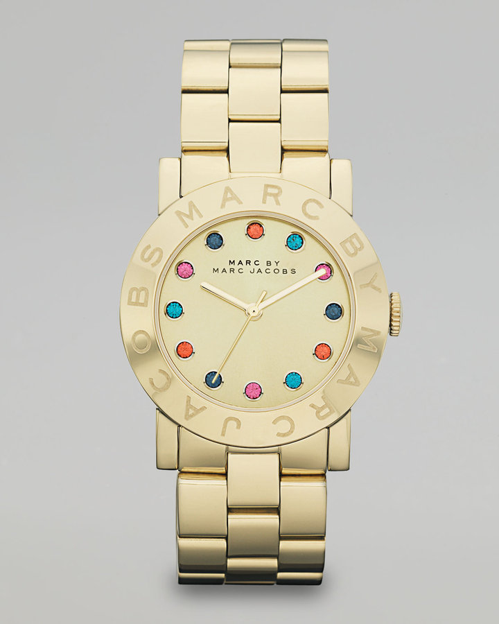 Marc by Marc Jacobs Sunray Golden Glitz Watch