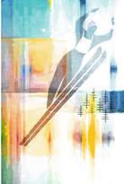 Parvez Taj Ski Jump Canvas Wall Art