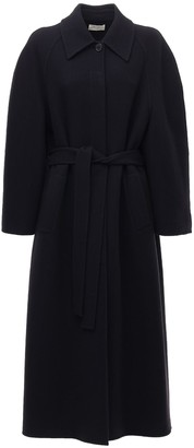 The Row Oversize Wool & Cashmere Double Coat