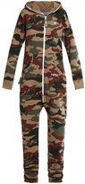 Onepiece Jumpsuit Beige/brown/green