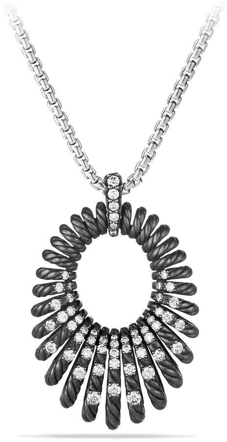 David Yurman 'Tempo' Necklace with Diamonds