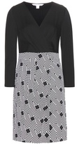 Diane von Furstenberg Gianna printed silk jersey dress
