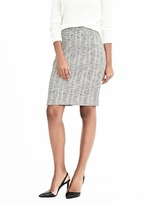 Banana Republic Ikat Boucle Skirt