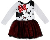 Toddler Girls' Minnie Mouse A Line Dresses - White