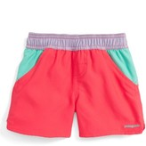 Patagonia Infant Girl's 'Forries Shorey' Board Shorts