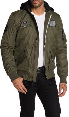X-Ray Xray Hooded Nylon Jacket