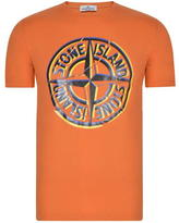 Stone Island Junior Boys Short Sleeved Logo T Shirt