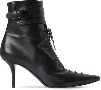 Philosophy di Lorenzo Serafini 75mm Lace-Up Leather Boots