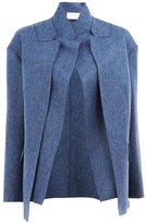 Maison Rabih Kayrouz layered blazer - women - Cupro/Wool - 38