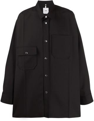 Oamc oversized shirt-jacket