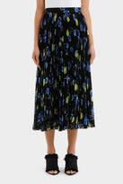 MSGM Pleated Cherry Skirt
