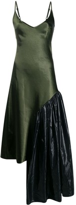 Collina Strada asymmetric slip dress