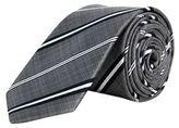 Burton Mens Grey Stripe Tie