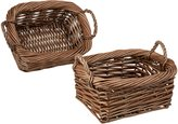 Organize It All Rustic Willow Basket-Small (2 Baskets)