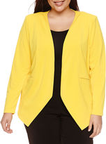 Bisou Bisou Long Sleeve Blazer-Plus