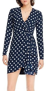 Lini Katie Dot Print Faux-Wrap Dress - 100% Exclusive