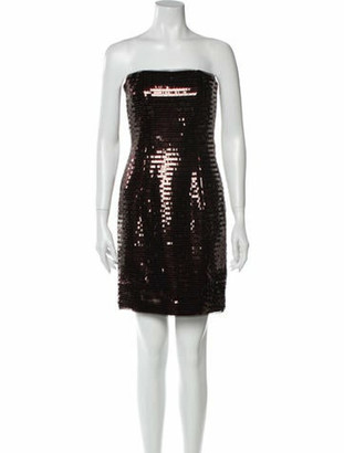 HANEY Strapless Mini Dress w/ Tags Purple