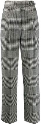 Ermanno Scervino houndstooth print trousers