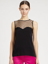 Milly Illusion Sweetheart Top