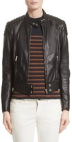 Belstaff Women's Mollison Leather Moto Jacket