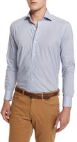 Peter Millar Buoy-Print Long-Sleeve Sport Shirt