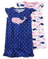 Carter's Girls 4-10 2-pc. Nightgown Set