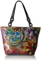 Anuschka Handpainted Leather 524-BLB Classic Large Tote