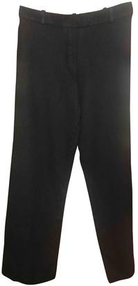 Hermes Black Wool Trousers for Women