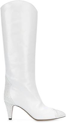 Isabel Marant Studded Knee-Length Boots