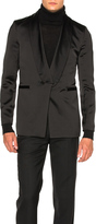 Ann Demeulemeester Shawl Collar Evening Jacket