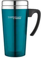 Thermos ThermoCafé Soft touch Travel Mug, Lagoon, 420 ml