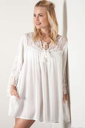 People Outfitter Lace Babydoll Dress