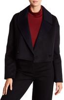 Tibi Wool & Angora Crop Jacket