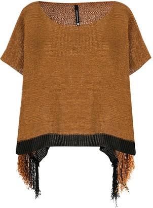 Pierantonio Gaspari Knitted Short Sleeve Top