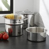 Crate & Barrel All-Clad ® 8-Qt. Stainless Steel Multi Cooker with Lid