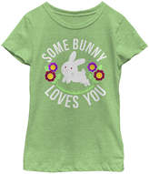 Fifth Sun Green Apple 'Some Bunny Loves You' Tee - Girls