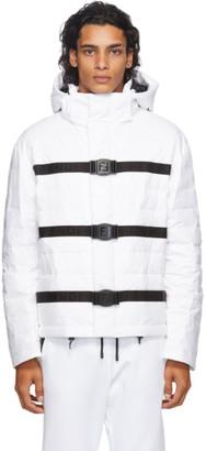 Fendi White Down Puffer Jacket