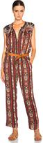 Etoile Isabel Marant Tad Paisley Print Jumpsuit